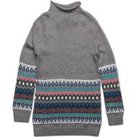 Fairisle Sweater Dress L/S
