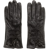 Leather And Felt Glove