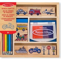 Melissa & DougVehicle Stamp Set