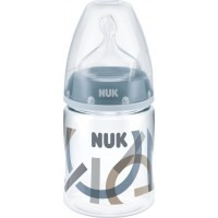 NUKNappflaska, First Choice+, Anti Kolik, 150 ml, Blå