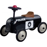 Metal RacerMetal Racer Little, Black Police Car