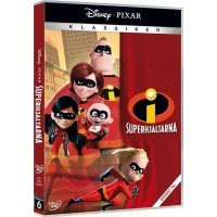 Disney The IncrediblesDisney Superhjältar, Disney klassiker 6 (DVD)