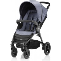 BritaxSittvagn, B-Motion 4, Blue Denim
