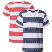 Max CollectionT-shirt, 2-pack, Navy/Red92 cm
