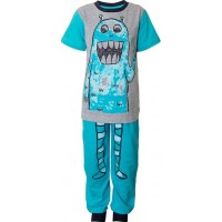 Max CollectionPyjamas, Grey Melange/Aqua92 cm