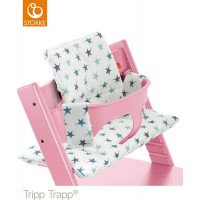 StokkeTripp Trapp Cushion Aqua Star