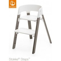 StokkeSteps Chair Legs Hazy Grey