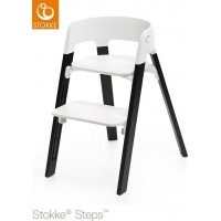 StokkeSteps Chair Legs Oak Black