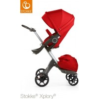 StokkeXplory V5 Red With Black Wheels