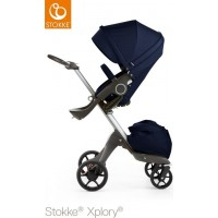 StokkeXplory V5 Deep Blue With Black Wheels