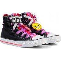 ConverseChuck Taylor All Star Emoji Energy Loophole Hi Tops Svart28.5 (UK 11)