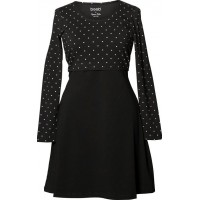 BoobDottie Dress Black/Offwhite Dot