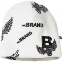 The BRANDFleece Mössa Off White Eagles