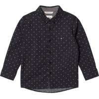 eBBe KidsAlbert Btn Down Shirt Ebbe Dots On Black92 cm