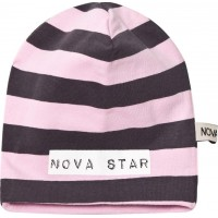 Nova StarBeanie Striped Pink