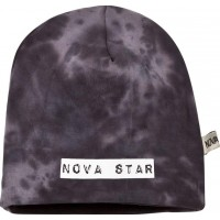 Nova StarBeanie Fleece Lined Grey/Black