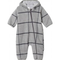 Hust&ClaireOnesie, Light Grey Melange68 cm