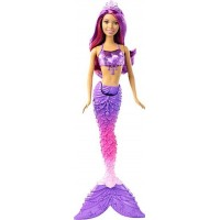 BarbieDreamtopia, Mermaid Doll, Gem Fashion, Purple