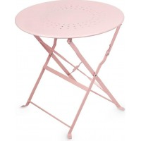 JOXFurniture Cafébord Metall Rosa