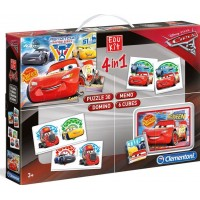 Disney Pixar CarsDisney Cars 3, Barnspel, Edukit 4 in 1