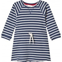 ebbe KidsFiuma Sweat Dress Denim Blue Stripe122 cm