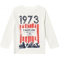 TimberlandMountain 1973 Print T-shirt Vit16 years