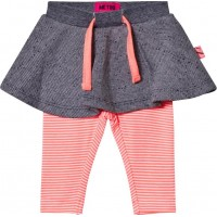 Me TooKin 259 -Skirt w/Leggings Bright Coral56 cm