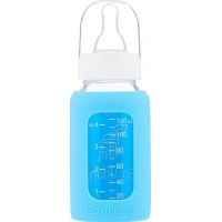 Eco VikingBaby Bottle Stand Neck 120 ml Blue