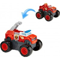 Play AWBlaze, Fire Truck, Transformerbar monster truck med ljud & ljus