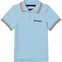 DidriksonsRäkan Kids Polo Clear Blue80 cm (9-12 mån)