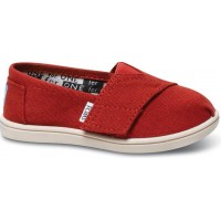 TomsToms. Canvasskor, Infant, Red22 EU