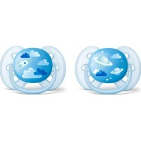 Philips Avent2-pack Nappar Ultra Soft, 6-18m Blå