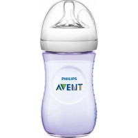 Philips AventPhilips Avent, Nappflaska, Natural, Anti Kolik, 260 ml, Purple