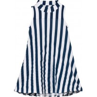 The BRANDTurtle Dress Blue Stripe80/86 cm