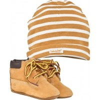 TimberlandCrib Bootie With Hat Wheat15 (US 0)