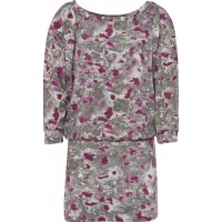 ShampoodleStone Dress Grey/Beet Red80