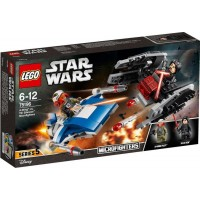 LEGO Star Wars75196 LEGO® Star Wars? A-Wing? vs. TIE Silencer? Microfighters