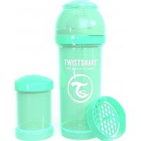 TwistshakeNappflaska Anti-Kolik 260ml Pastel Green 2+m