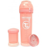 TwistshakeNappflaska Anti-Kolik 330ml Pastel Peach 4+m