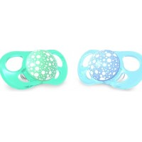 Twistshake2-pack Sugnapp Large Pastel Blue/Grön 6+mm