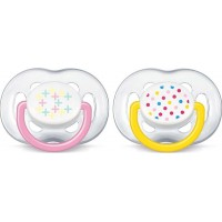 Philips AventPhilips Avent, Napp, Freeflow, 6-18 mån, Pink