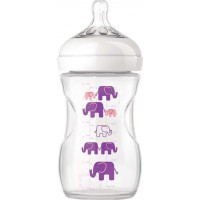 Philips AventPhilips Avent, Nappflaska, Elephant, 260 ml, Purple