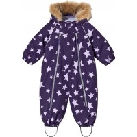 Ticket To HeavenVinteroverall Baggie Parachute Purple Stars74 cm