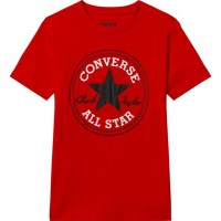 ConverseChuck Patch T-Shirt Röd8-10 years