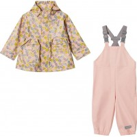 Mini A TureCharlene + Rubi Rain Set Pale Dogwood Rose80 cm