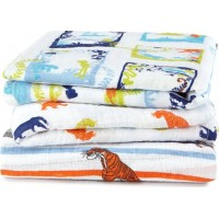 Aden + AnaisDisney Jungle Book Print Swaddles 3 Pack