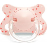 SuavinexFusion Napp Physiological 2-4m Latex Pink Swallow
