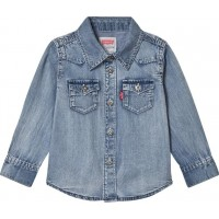 Levis KidsLight Wash Denim Skjorta3 years