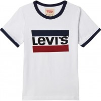 Levis KidsLogo Print T-shirt (Mini Me) Vit2 years