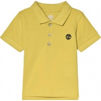 TimberlandClassic Tree Logo Polo Skjorta Lime6 months